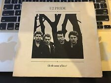 "RARE U2 DOUBLE 7"" PACK-PRIDE/4TH OF JULY I LOVE-BOOMERANG 1+2 COLLECTOR ITEM VG+"