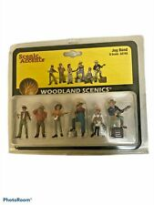 Scenic Accents Woodland O Scale Jug Band A2743