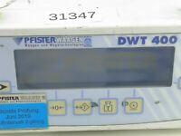 Pfister Waagen DWT 400 Wägeterminal Bedienterminal DWT400