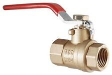 LDR 022 2235 1-Inch IPS Full Port FIP Ball Valve Lead Free Brass