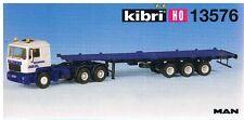 Kibri H0-Bausatz (1:87) 13576 MAN 3-achs.Zugmaschine mit Containerauflieger-neu