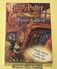 Harry Potter Two Player Starter Deck Set NEW WOC TCG CCG Trading Card Game