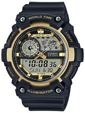 Casio Gents Collection Alarm Chronograph Watch Aeq-200w-9avef