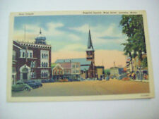 HOSPITAL SQUARE, MAIN STREET, LEWISTON, MAIN KORA TEMPLE 1952