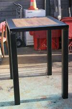 Table mange debout design indus meuble industriel décoration