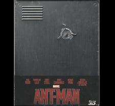 ANT-MAN prima uscita 3D + 2D  (Steelbook italiana Blu-ray Disc) NUOVO sigillato