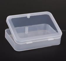 2 x Transparent Plastic Storage Poker Cards Box Organizer Holder Case Container