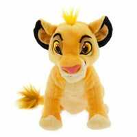 "Disney Authentic Simba Plush Toy Doll - 7"" H The Lion King Stuffed Animal"