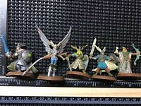 heroscape Valkyrie Vikings figures lot, Dungeons And Dragons Magic War Hammer