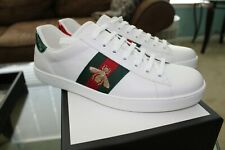 Authentic Gucci Men's Ace Embroidered Sneakers *** US Men's 10.5 ***
