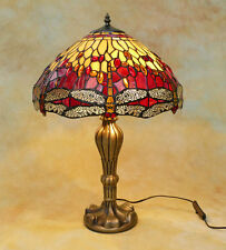 Tiffany Tischlampe Dragonfly Libelle Tiffanylampe Lampe TE21-a