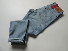 Levi's Wedgie in Desert Delta DESTROYED Selvedge High Rise Rigid Jeans 26