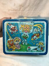 Vintage 1985 Jim Henson's Muppet Babies Metal Lunch Box (No Thermos )