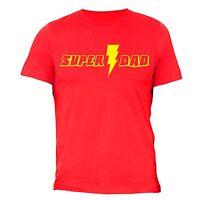Father's Day t shirt Gift Super Dad T-shirt Superhero Birthday Husband Daddy