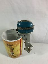 New listing 1950s Sakai Speed King Toy Outboard Motor Read Description