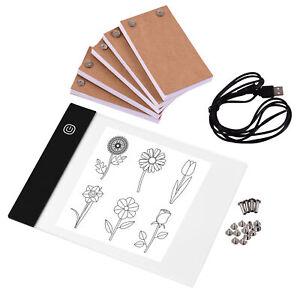 Portable Flip Book Kit with Light Pad Tablet LED Copyboard Flipbook 20*14.8cm