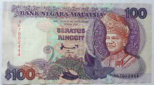 RM100 Ahmad Don sign Note AK 7902444