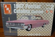 New AMT 1962 PONTIAC CATALINA CUSTOM ~ 1:25 Scale Model Kit ~ SEALED
