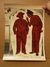 Sgt. Bilko's Pvt Doberman 6 Cover Production Art LOT Photo Print, Colorist Proof