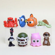 8PCS DISNEY FINDING DORY NEMO FISH ACTION FIGURES DOLL TOY KID CAKE TOPPER DECOR