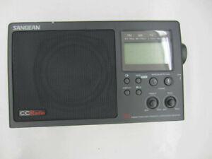 Vintage SANGEAN CC Radio Plus DX AM FM TV Weather Band receiver + Alert Plus CC