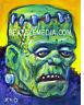 XNO Original Art-Comic Art-Comix,FRANKENSTEIN-HALLOWEEN-MONSTER-HORROR-KARLOFF