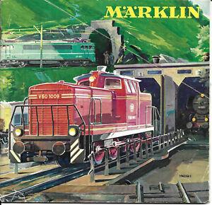 CATALOGO TRENINI ELETTRICI MARKLIN 1963-1964. ILLUSTRATO. BELLISSIMO. DIVERSO