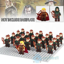 21PCS 2 Style Lord Of The Rings Elf Hunter Archer Bowman Building Blocks DIY Toy
