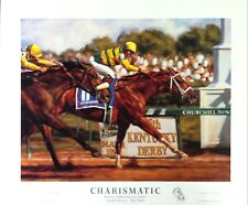 Kentucky Derby - 1999 - Charismatic - Print by Celeste Susany