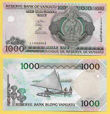 Vanuatu 1000 Vatu p-10c 2002 UNC Banknote