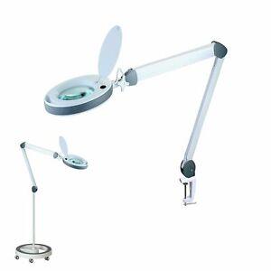 Lumeno 851X LED Lupenleuchten Lupenlampe dimmbar Echtglaslinse Kosmetik Sehhilfe