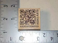 HERO ARTS #B5555 HANDSTAMPED WOOD MOUNTED RUBBER STAMPS NEW A1661