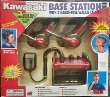 Kawasaki Base Station with 2 Hands Walkie Talkie Btrand vintage NEW