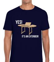 YES! IT'S AN EXTENDER MENS T SHIRT JOKE PARTRIDGE DESIGN FUNNY ALAN JOKE NORWICH