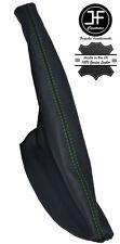 GREEN STITCHING LEATHER HANDBRAKE GAITER FITS SEAT IBIZA II CORDOBA 6K 93-99