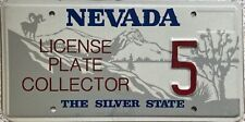American  Nevada License Plate Collector Pressed USA Licence License Plate 5