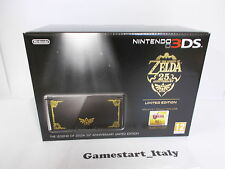 CONSOLE NINTENDO 3DS THE LEGEND OF ZELDA 25TH ANNIVERSARY EDITION LIMITED - NEW