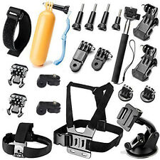 Head Wrist Strap Camera Accessory Kits for GoPro Hero 7 6 5 SJ4000 SJ5000 SJ6000