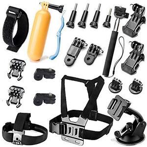 Head Wrist Strap Camera Accessory Kits for GoPro Hero 9 8 7 SJ4000 SJ5000 SJ6000