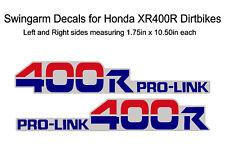 Swingarm Decals for Honda XR400r dirtbike - XR400 XR 400 400R