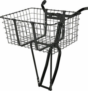Wald 157 Front Giant Delivery Basket: Gloss Black