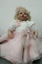 """Fayzah Spanos 24"""" Signed Limited 294/500 Hard Vinyl Girl Doll """"With a Kiss.."""""""