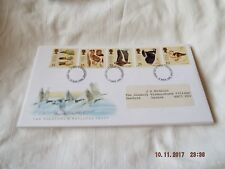 ROYAL MAIL FDC  THE WILDFOWL & WETLAND TRUST