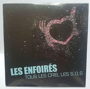 LES ENFOIRÉS (de Balavoine) ♦ CD PROMO NEUF ♦ TOUS LES CRIS LES SOS (radio mix)