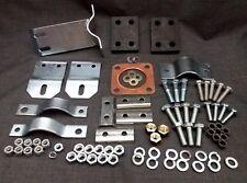 "Land Rover Series 3 88"" SWB Full Exhaust Fitting Kit Mounting Brackets - DA1293"