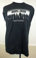 Dawn Of The Dead Black Sleeveless T-Shirt Horror Punk L