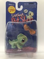 Littlest Pet Shop Original Iguana #29 With Orange Sunglasses Retired 2004