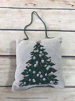 Christmas Ornament Green Tree Plush Pillow Holiday Decoration Home Decor Xmas