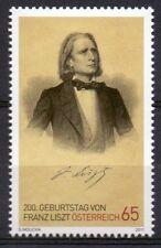 ÖSTERREICH 2010 MiNr 2910 Franz Liszt Komponist Composer Musik  MNH **  (034)