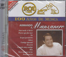 CD - Armando Manzanero NEW 100 Anos De Musica 2 CD - FAST SHIPPING !